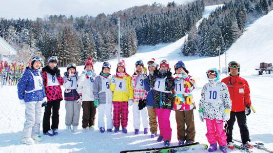 1年スキー学習